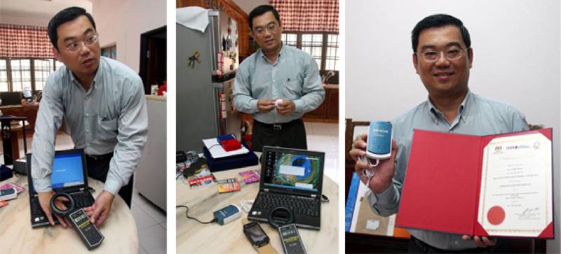 劉德福以電腦輻射清除器獲得國際發明公開組創新獎